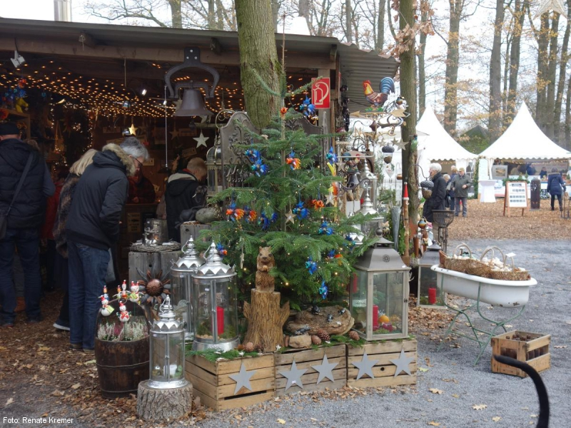 Fahrt Zum Waldweihnachtsmarkt Auf Dem Landgut Krumme In