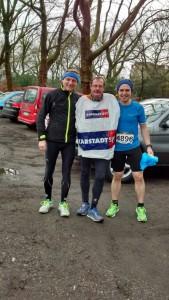 Peter, Thomas und Timo vor dem Start