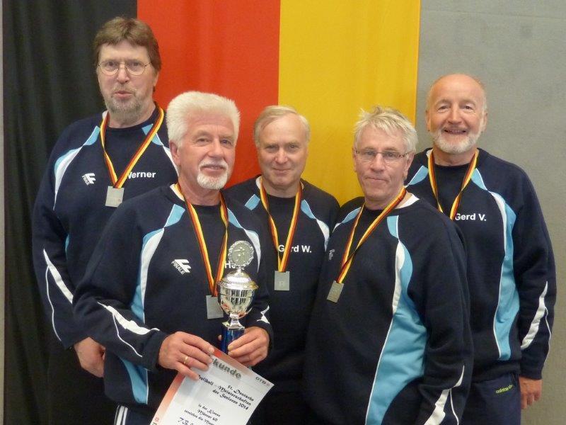 v.l.: Werner Tigges, Heinz Held, Gerd Wahlers, Helmut Ortmann, Gerd Valtin.