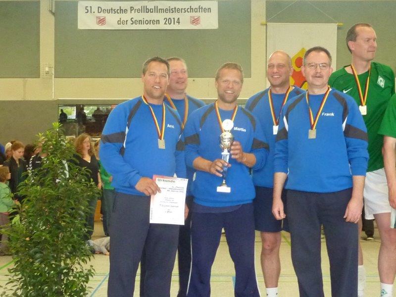 v.l: Torsten Kammler, Jochen Rehbock, Martin Kammler, Christoph Bujak, Frank Kampe.